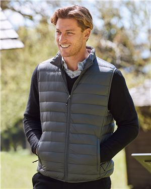 Weatherproof - 28152, Men's 32 Degrees Packable Down Vest - Logo Masters International