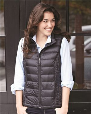 Weatherproof - 28452, 32 Degrees Women's Packable Down Vest , Embroidery, Screen Printing - Logo Masters International