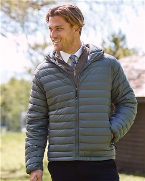 Weatherproof - 87752, Men's 32 Degrees Hooded Packable Down Jacket - Logo Masters International