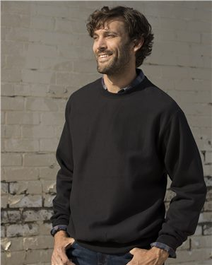 Weatherproof - 20352 Men's Cross Weave Crewneck