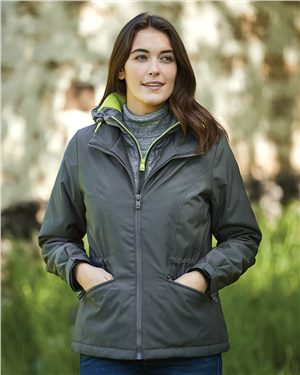 Weatherproof - 87652, 32 Degrees Women's VRY WRM Turbo Jacket, Embroidery, Screen Printing - Logo Masters International
