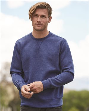 Weatherproof - 10152 Men's Heat Last Fleece Tech Crewneck Sweatshirt