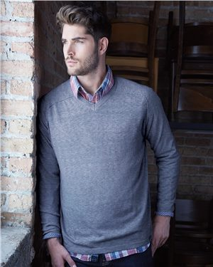 Weatherproof - 28852 Men's Vintage V-Neck Cotton Sweater