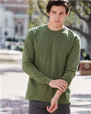Comfort Colors - 08108 Garment Dyed Heavyweight Ringspun Long Sleeve T-Shirt