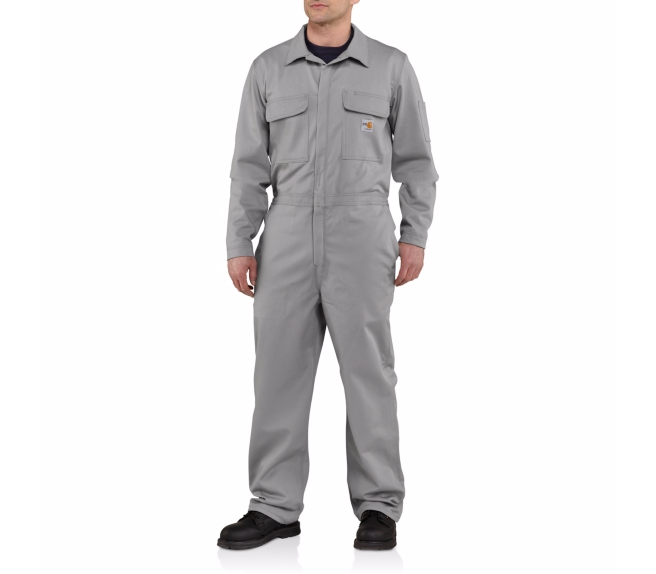 Carhartt - 101017 Men's Flame-Resistant Traditional Twill Coverall, Pensacola, Embroidery, Screen Printing, Logo Masters International