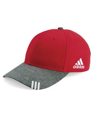 Adidas - 10695, Collegiate Heather Cap - Logo Masters International