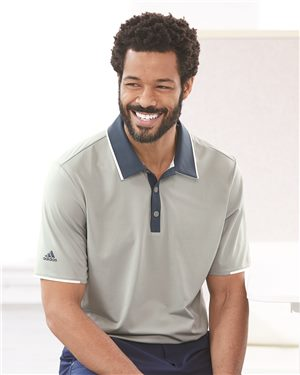 Adidas - 63253 Men's Climacool Performance Polo, Pensacola, Embroidery, Screen Printing, Logo Masters International