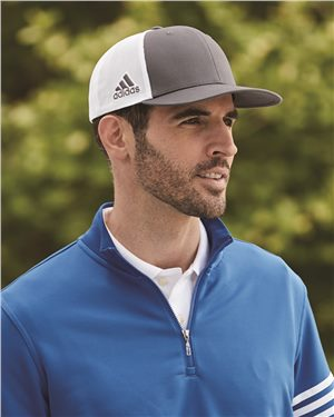 Adidas - 47095 Mesh Colorblock Cap, Pensacola, Embroidery, Screen Printing, Logo Masters International