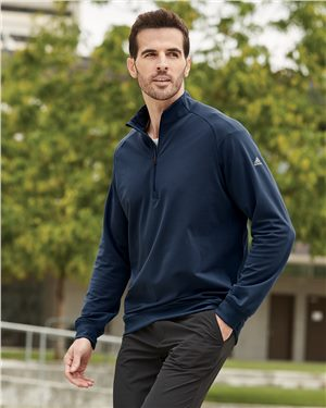 Adidas - 18453 Men's Quarter-Zip Club Pullover
