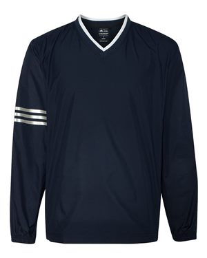 Adidas - 62753, Men's ClimaProof® Wind Colorblock V-Neck Windshirt, Embroidery, Screen Printing - Logo Masters International