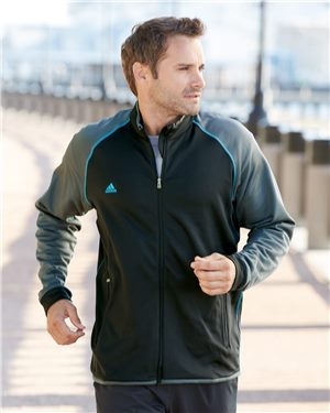 Adidas - 62053 Men's Climawarm+ Full-Zip Jacket, Pensacola, Embroidery, Screen Printing, Logo Masters International