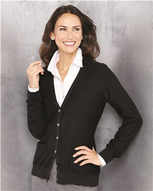 Van Heusen - 47897, Women's Cardigan Sweater - Logo Masters International