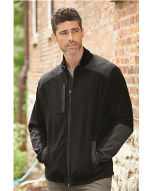 Dri Duck - 80667, Men's Explorer DDX Full-Zip Microfleece Nylon Jacket - Logo Masters International