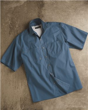 Dri Duck - 80367 Men's Guide Performance Poplin Shirt, Pensacola, Embroidery, Screen Printing, Logo Masters International
