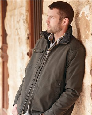 Dri Duck - 80067, Men's Endeavor Canyon Cloth Canvas Jacket with Sherpa Lining - Logo Masters International