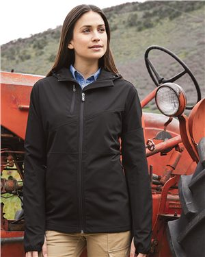 Dri Duck - 40067, Women's Ascent Hooded Soft Shell Jacket, Embroidery, Screen Printing - Logo Masters International