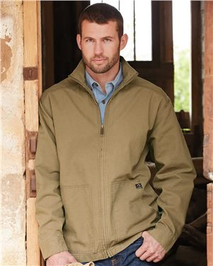Dri Duck - 80167 Men's Trail Canyon Cloth Unlined Canvas Jacket, Pensacola, Embroidery, Screen Printing, Logo Masters International
