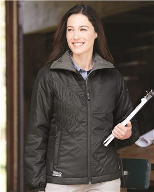 Dri Duck - 65267, Women's Solstice Thinsulate Lined Puffer Jacket, Embroidery, Screen Printing - Logo Masters International