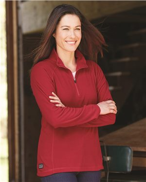 Dri Duck - 81767 Women's Fusion Quarter-Zip Nano-Fleece Pullover