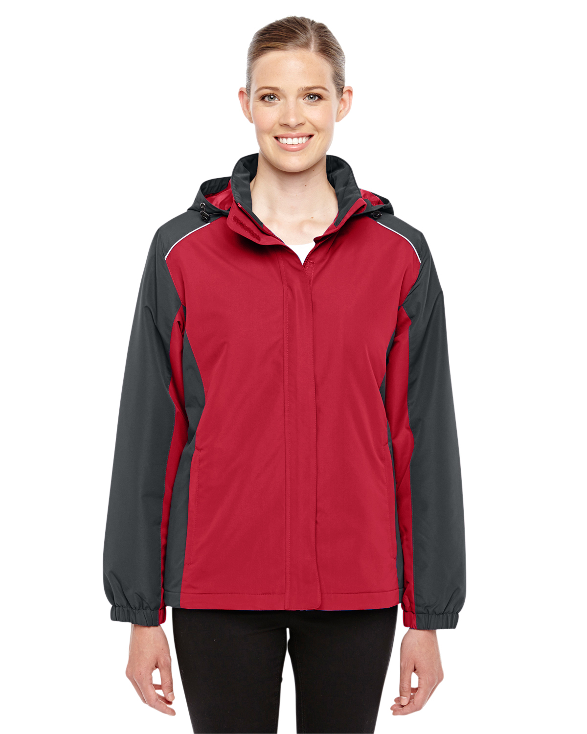 Ash City - 78225, Ladies' Core 365 Inspire Colorblock All-Season Jacket, Embroidery, Screen Printing - Logo Masters International