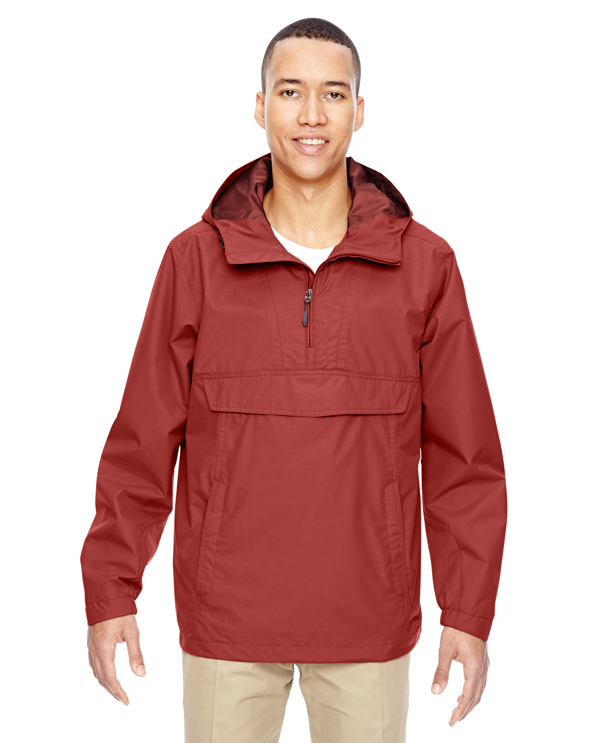 Ash City - 88219, Men's Excursion Intrepid Lightweight Anorak - Logo Masters International