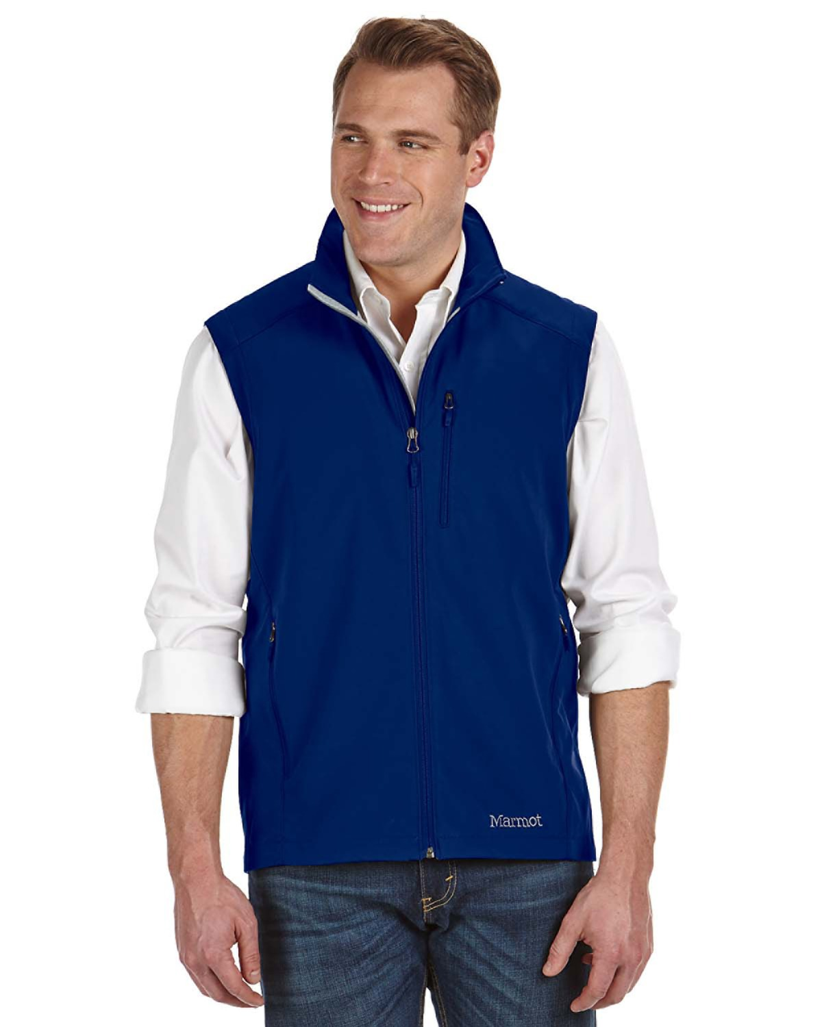 Marmot - 98070 Men's Approach Vest, Pensacola, Embroidery, Screen Printing, Logo Masters International