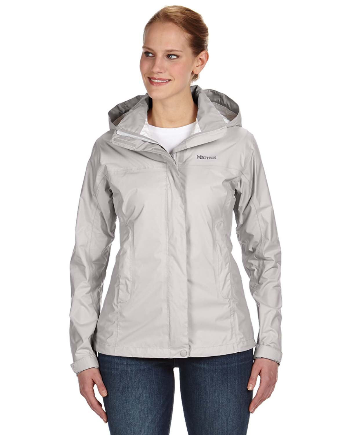 Marmot - 46200, Ladies' PreCip Jacket, Embroidery, Screen Printing - Logo Masters International