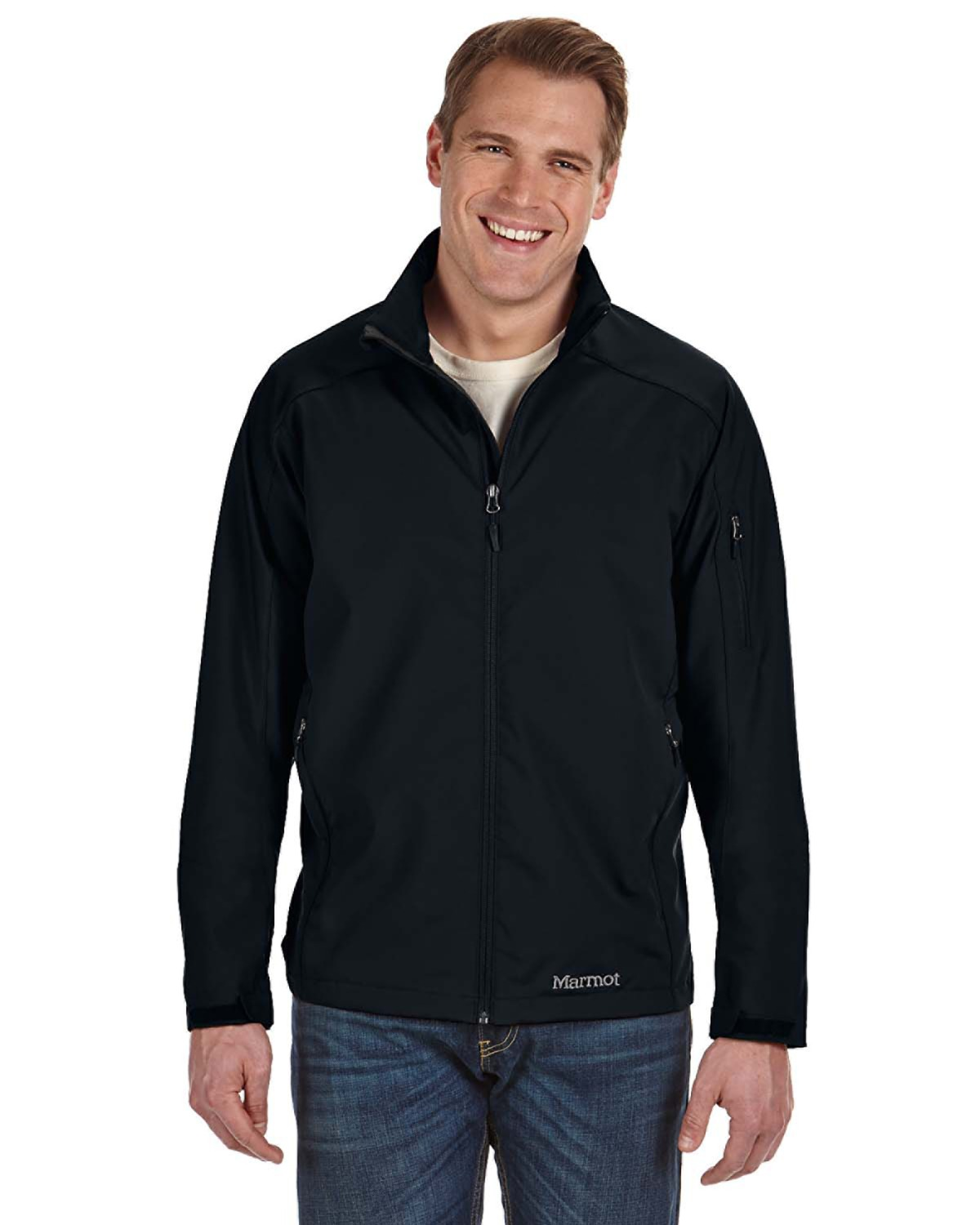 Marmot - 94410 Men's Approach Jacket, Pensacola, Embroidery, Screen Printing, Logo Masters International