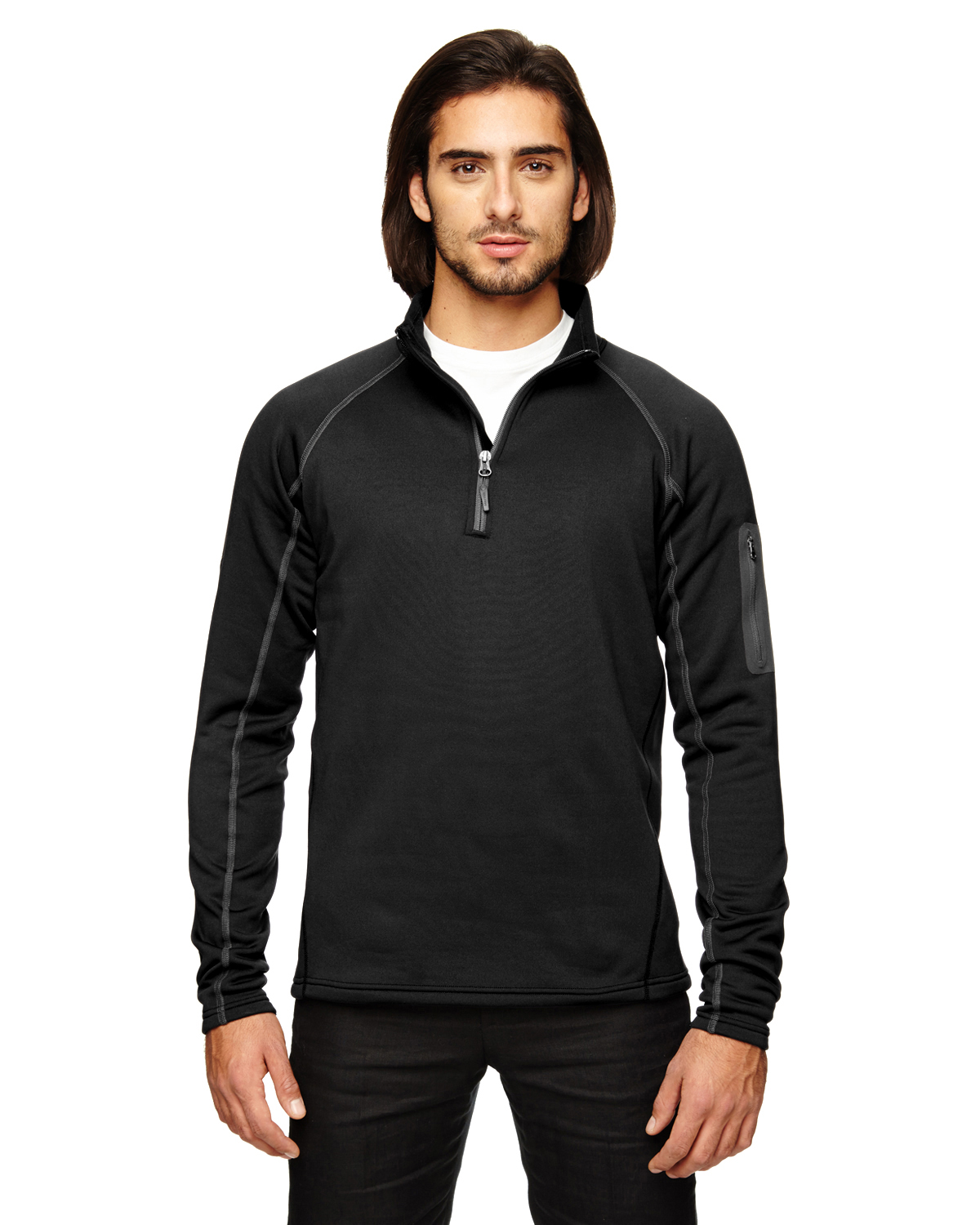 Marmot - 80890, Men's Stretch Fleece Half-Zip - Logo Masters International