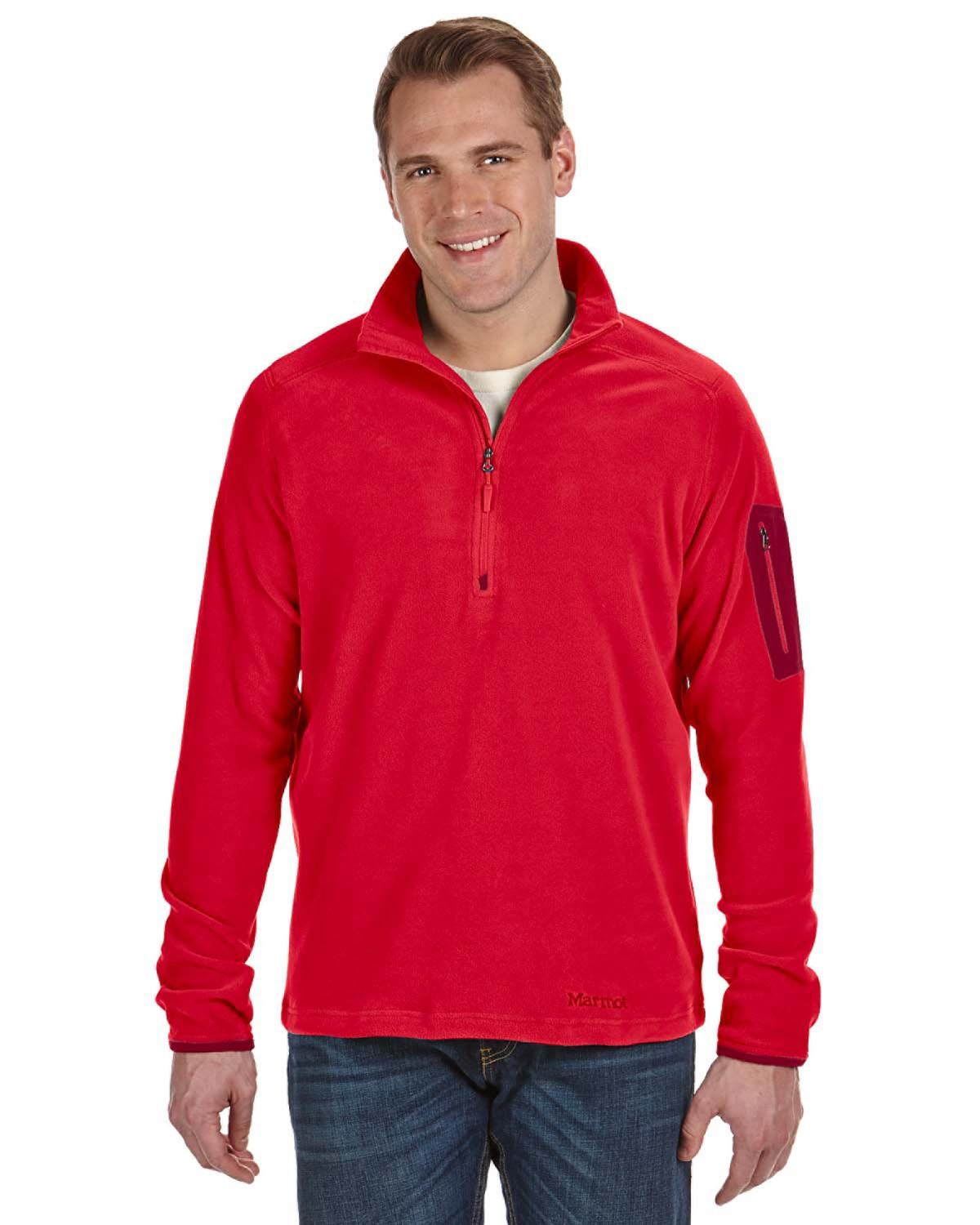 Marmot - 98130, Men's Reactor Half-Zip - Logo Masters International