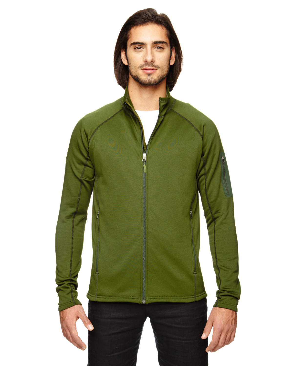Marmot - 80840 Men's Stretch Fleece Jacket, Pensacola, Embroidery, Screen Printing, Logo Masters International