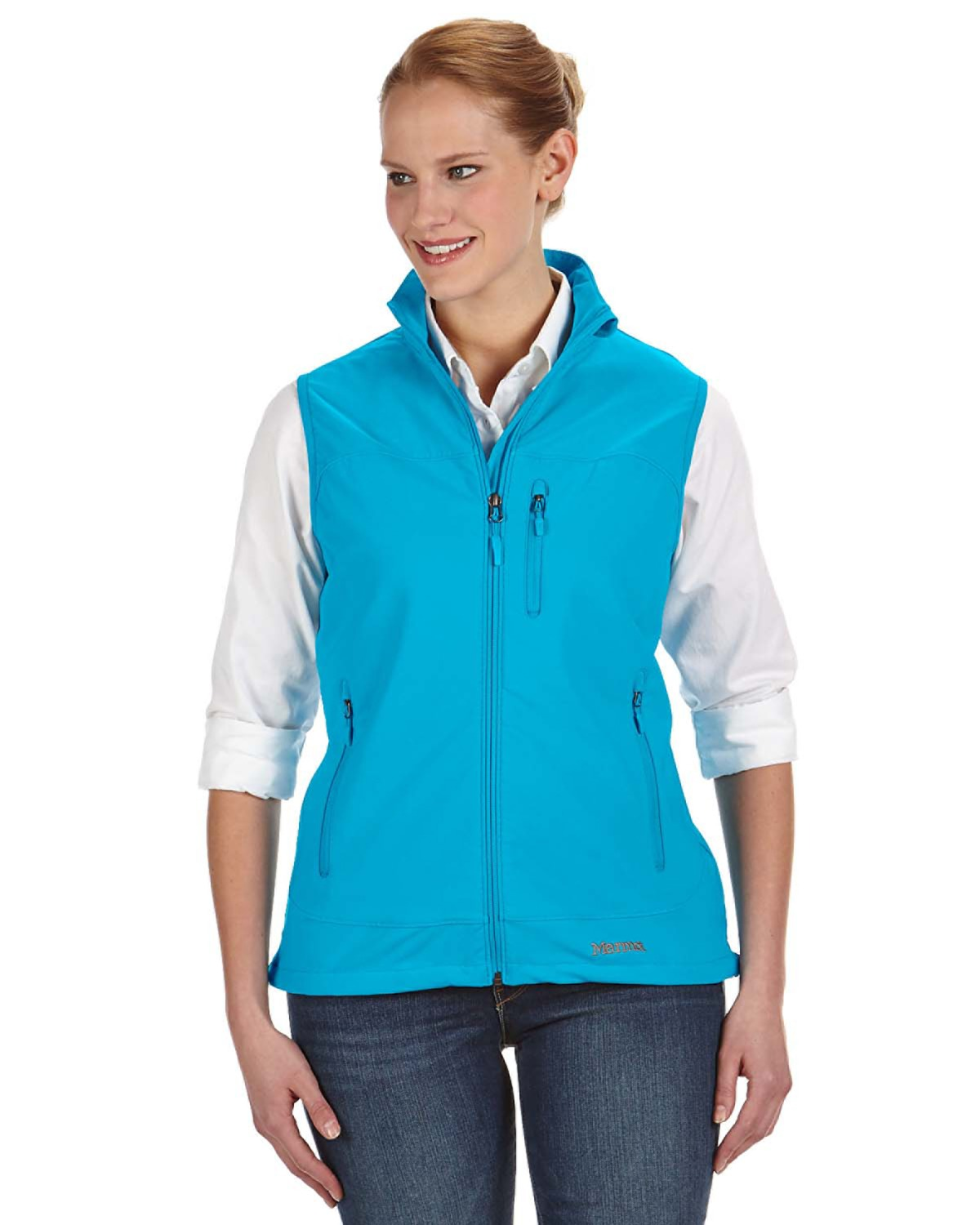Marmot - 98220, Ladies' Tempo Vest, Embroidery, Screen Printing - Logo Masters International