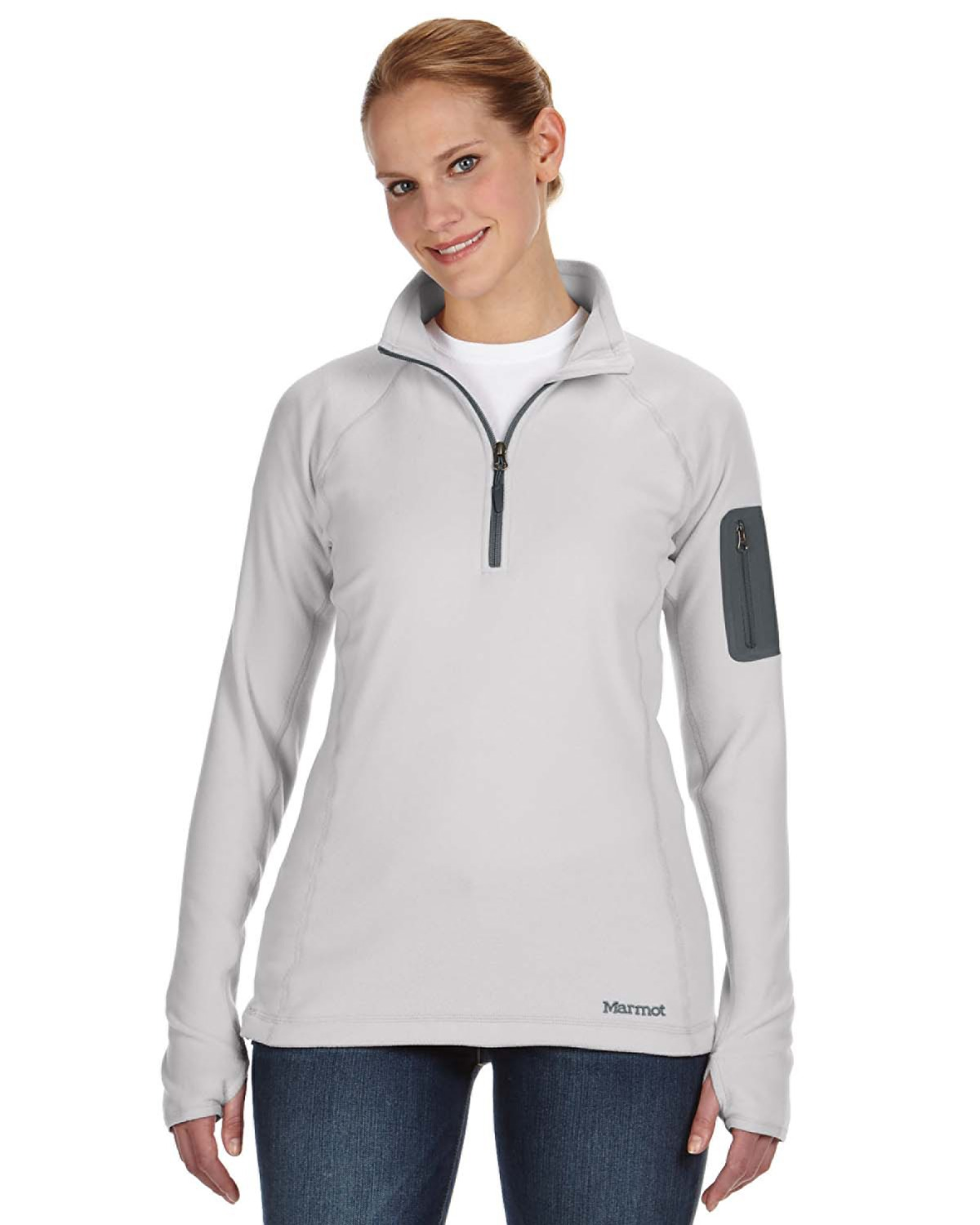 Marmot - 88250, Ladies' Flashpoint Half-Zip, Embroidery, Screen Printing - Logo Masters International