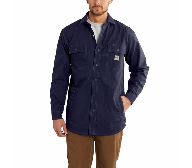 Carhartt - 102682,Men's Flame-Resistant Full Swing Quick Duck Shirt JAC, Embroidery, Screen Printing, Pensacola, Logo Masters International