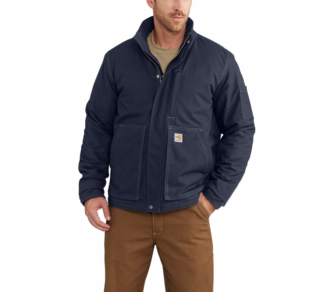 Carhartt - 102692, Men's Flame-Resistant Full Swing Quick Duck Lanyard Access Jacket - Logo Masters International