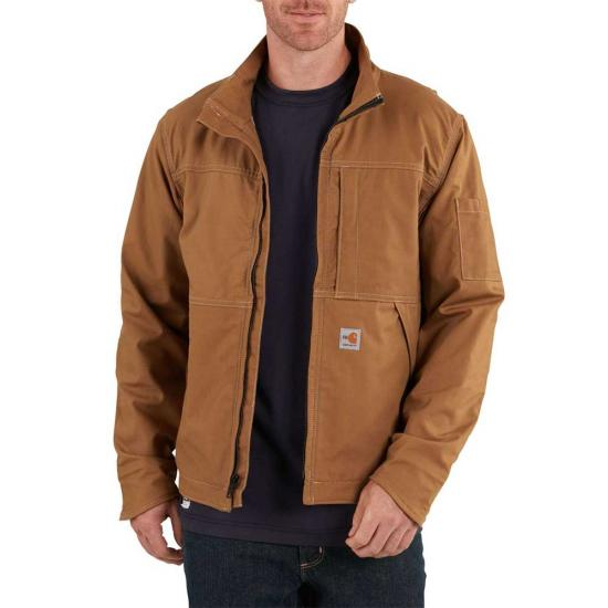 Carhartt - 102179,Men's Flame-Resistant Full Swing Quick Duck Jacket, Embroidery, Screen Printing, Pensacola, Logo Masters International