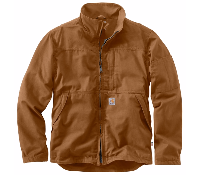 Carhartt - 102179 Men's Flame-Resistant Full Swing Quick Duck Jacket, Pensacola, Embroidery, Screen Printing, Logo Masters International