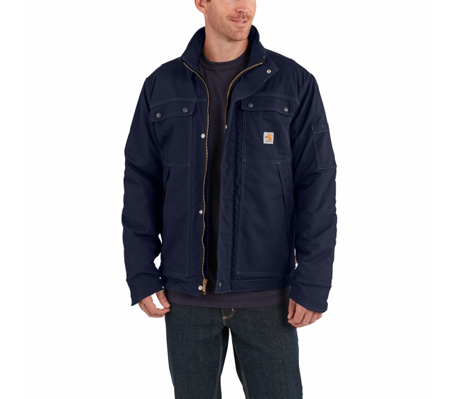 Carhartt - 102182, Men's Flame-Resistant Full Swing Quick Duck Coat - Logo Masters International
