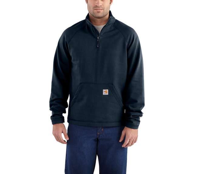 Carhartt - 101576 Men's Flame-Resistant Force Fleece Quarter-Zip, Pensacola, Embroidery, Screen Printing, Logo Masters International