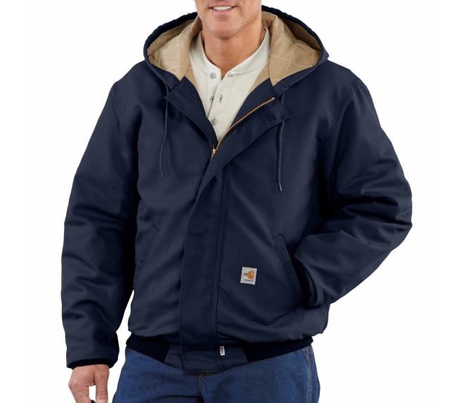 Carhartt - 101622 Men's Flame-Resistant Midweight Active JAC/Quilt Lined, Pensacola, Embroidery, Screen Printing, Logo Masters International