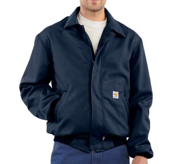 Carhartt - FRJ020 Men's Flame Resistant All-Season Bomber Jacket, Pensacola, Embroidery, Screen Printing, Logo Masters International