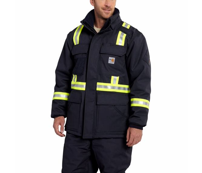 Carhartt - 100784 Men's Flame-Resistant Extremes Arctic Coat, Pensacola, Embroidery, Screen Printing, Logo Masters International