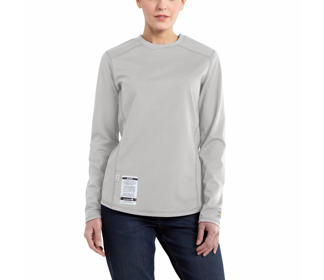 Carhartt - 101107 Women's Flame-Resistant Force Cotton Long-Sleeve T-Shirt, Pensacola, Embroidery, Screen Printing, Logo Masters International
