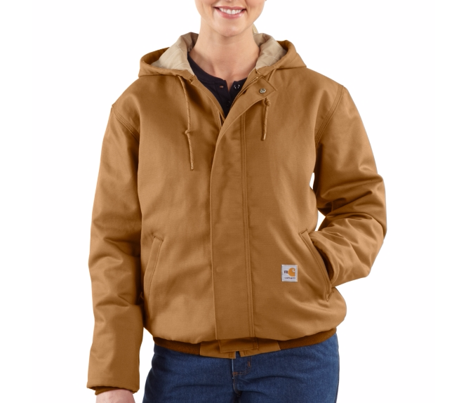 Carhartt - 101629 Women's Flame-Resistant Midweight Canvas Active JAC, Pensacola, Embroidery, Screen Printing, Logo Masters International