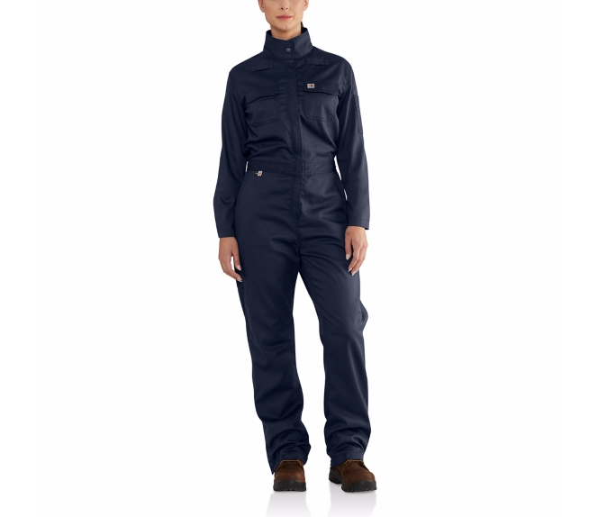 Carhartt - 102450 Women's Flame-Resistant Rugged Flex Coverall, Pensacola, Embroidery, Screen Printing, Logo Masters International