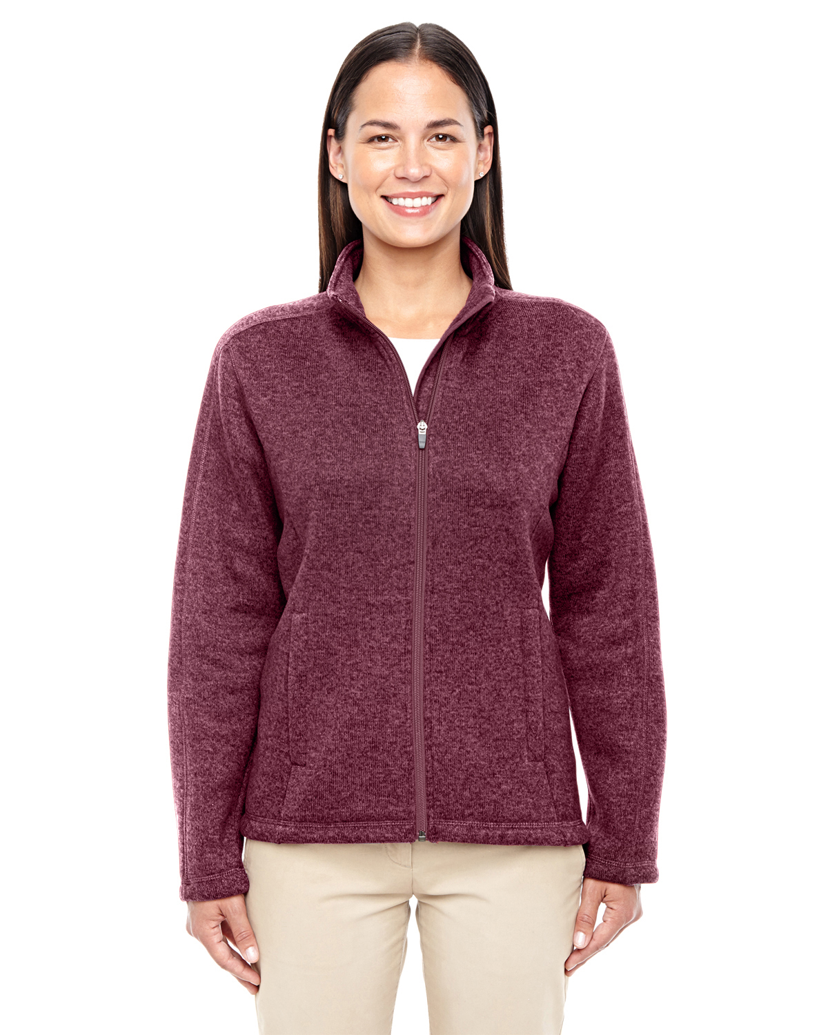 Devon & Jones - DG793W, Ladies' Bristol Full-Zip Sweater Fleece Jacket - Logo Masters International