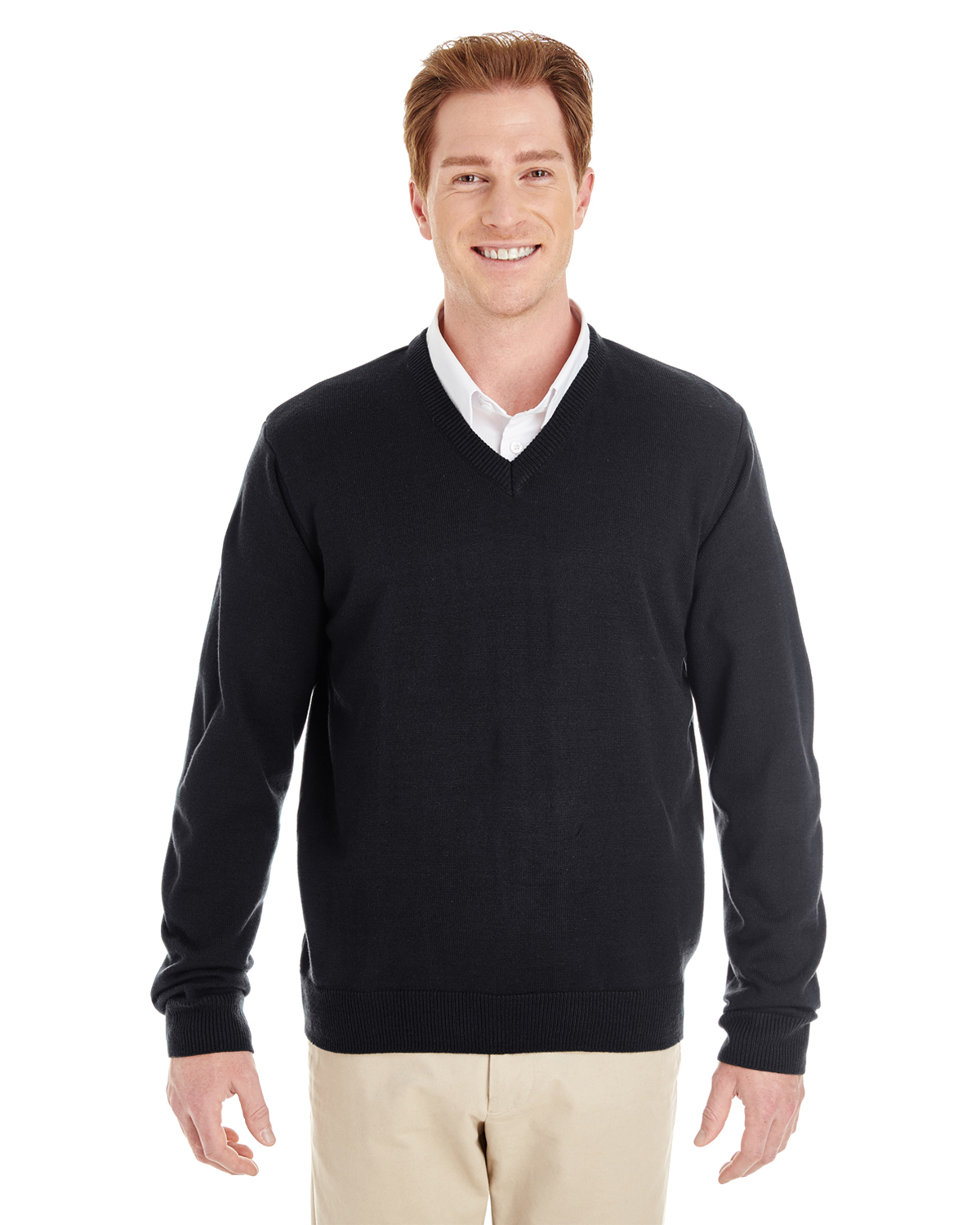 Harriton - M420 Men's Pilbloc V-Neck Sweater