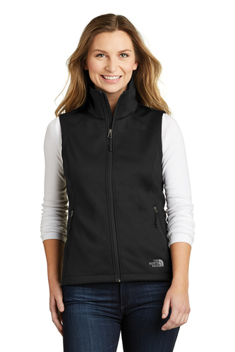 The North Face - NF0A3LH1, Ladies Ridgeline Soft Shell Vest, Embroidery, Screen Printing - Logo Masters International