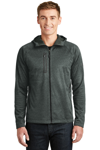 The North Face - NF0A3LHH Men's Canyon Flats Fleece Hooded Jacket, Pensacola, Embroidery, Screen Printing, Logo Masters International