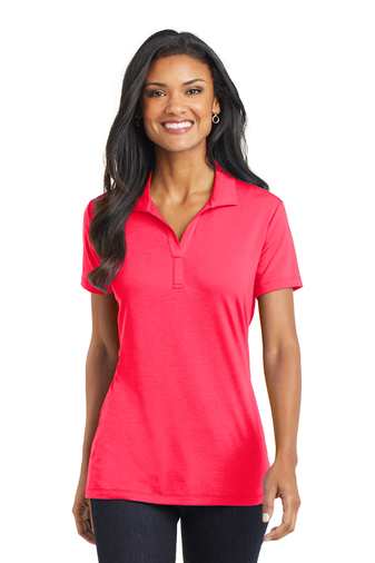 Port Authority - L568 Ladies Cotton Touch Performance Polo, Pensacola, Embroidery, Screen Printing, Logo Masters International